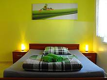 Pension Kingsizebett Zimmer